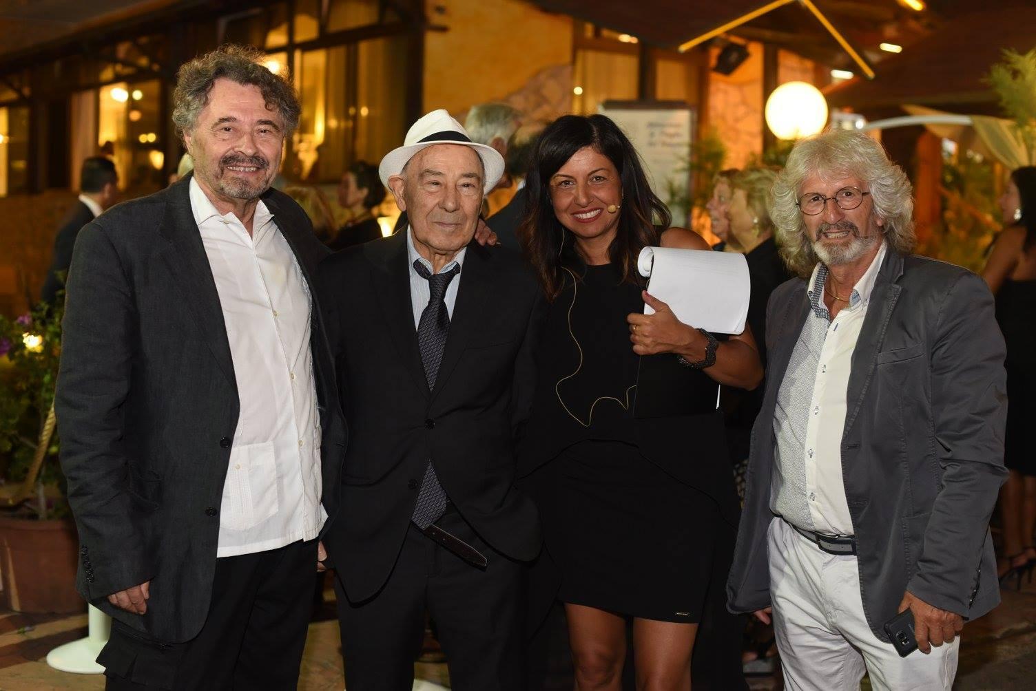 Da sx_Giovanni Brusatori_Carlo Riccardi_Lisa Bernardini_Ignazio Colagrossi