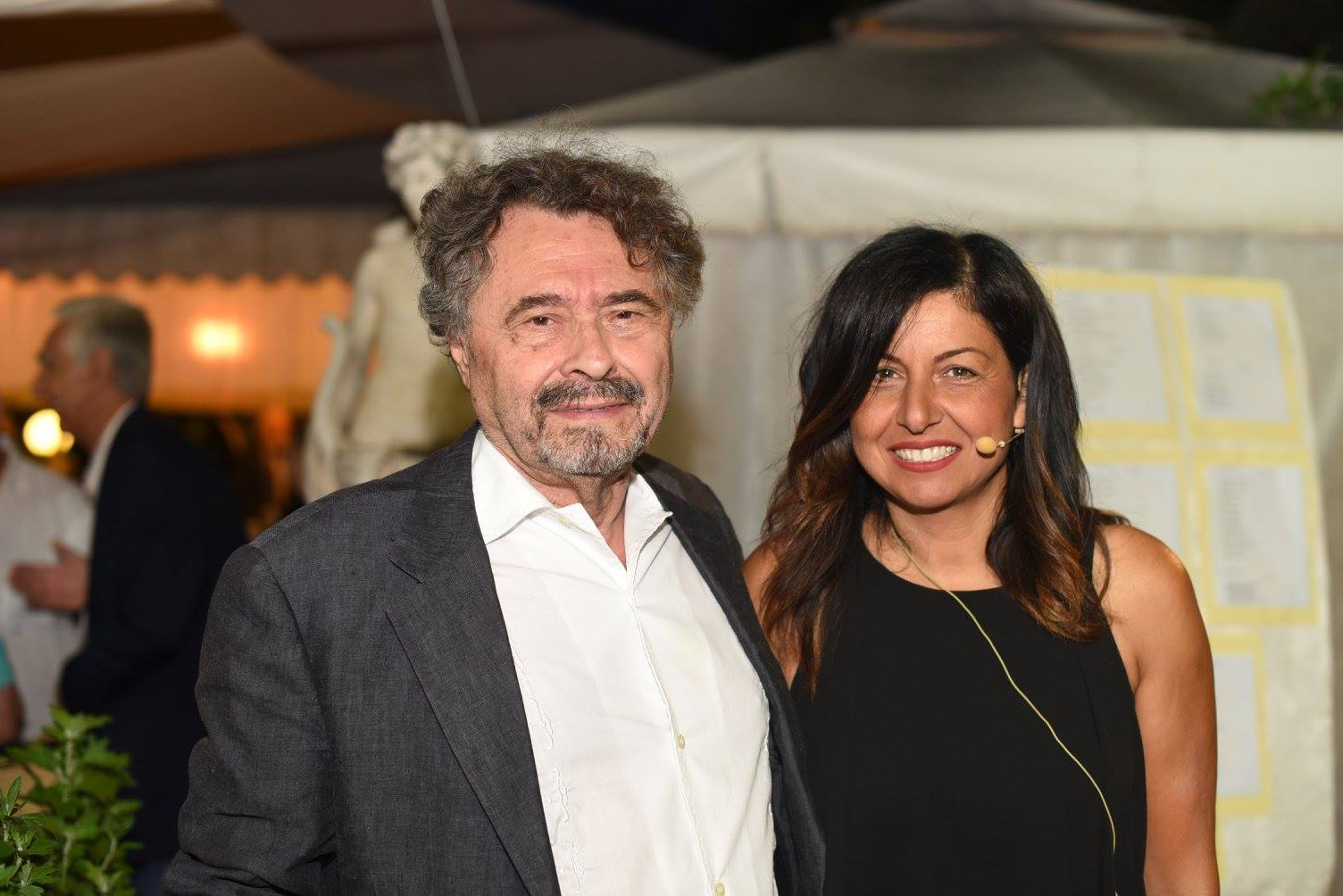 Giovanni Brusatori e Lisa Bernardini
