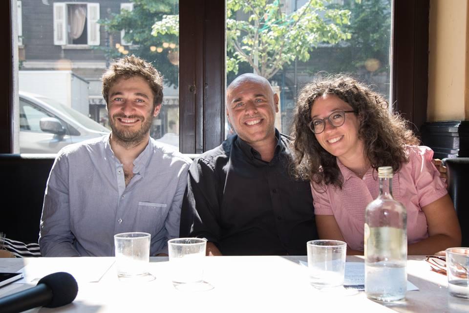 conferenza stampa Lino Guanciale e Lorenzo Acquaviva è stato presentato da Alessandro Mezzena Lona
