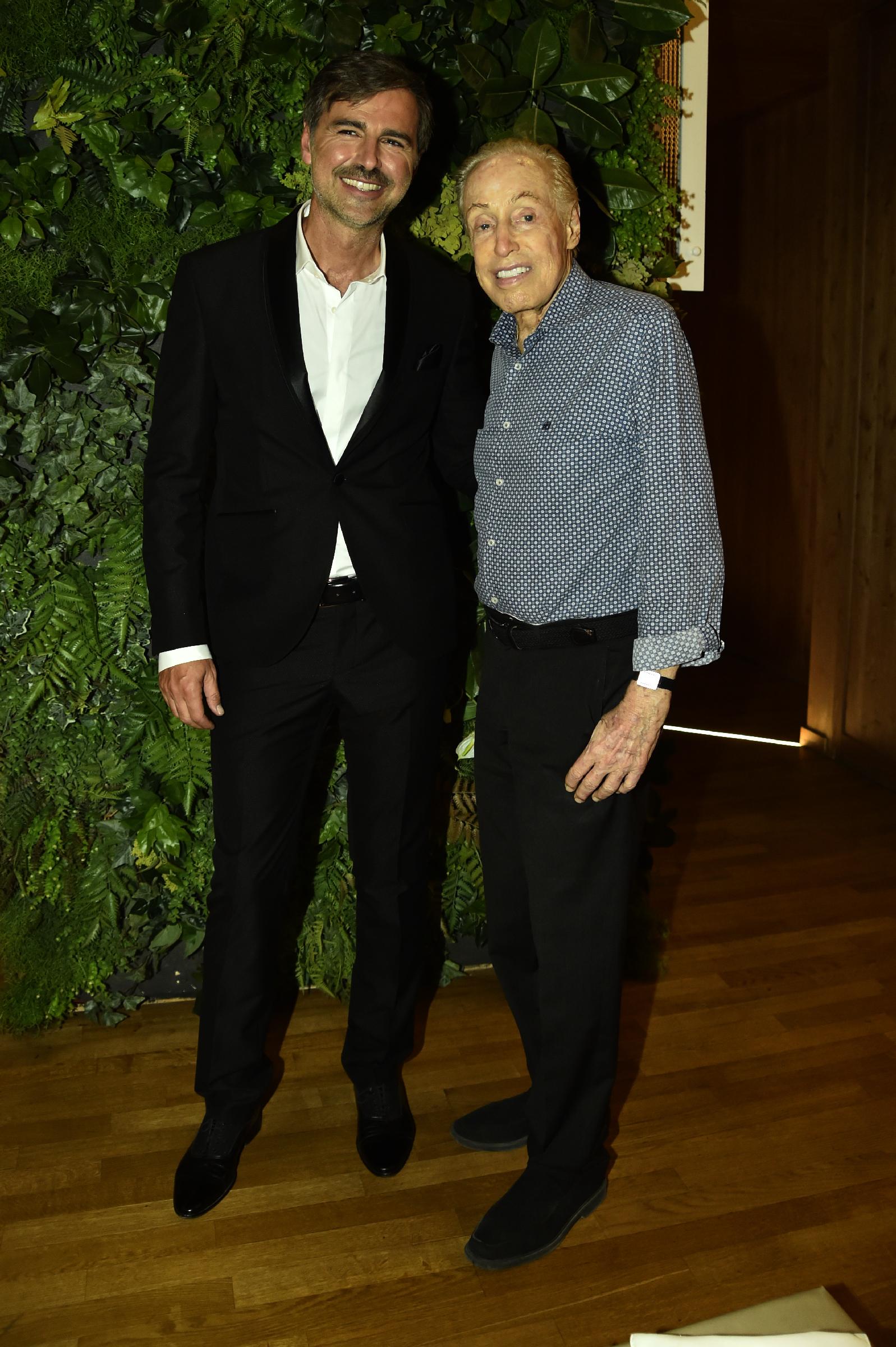 Beppe Convertini e Renato balestra