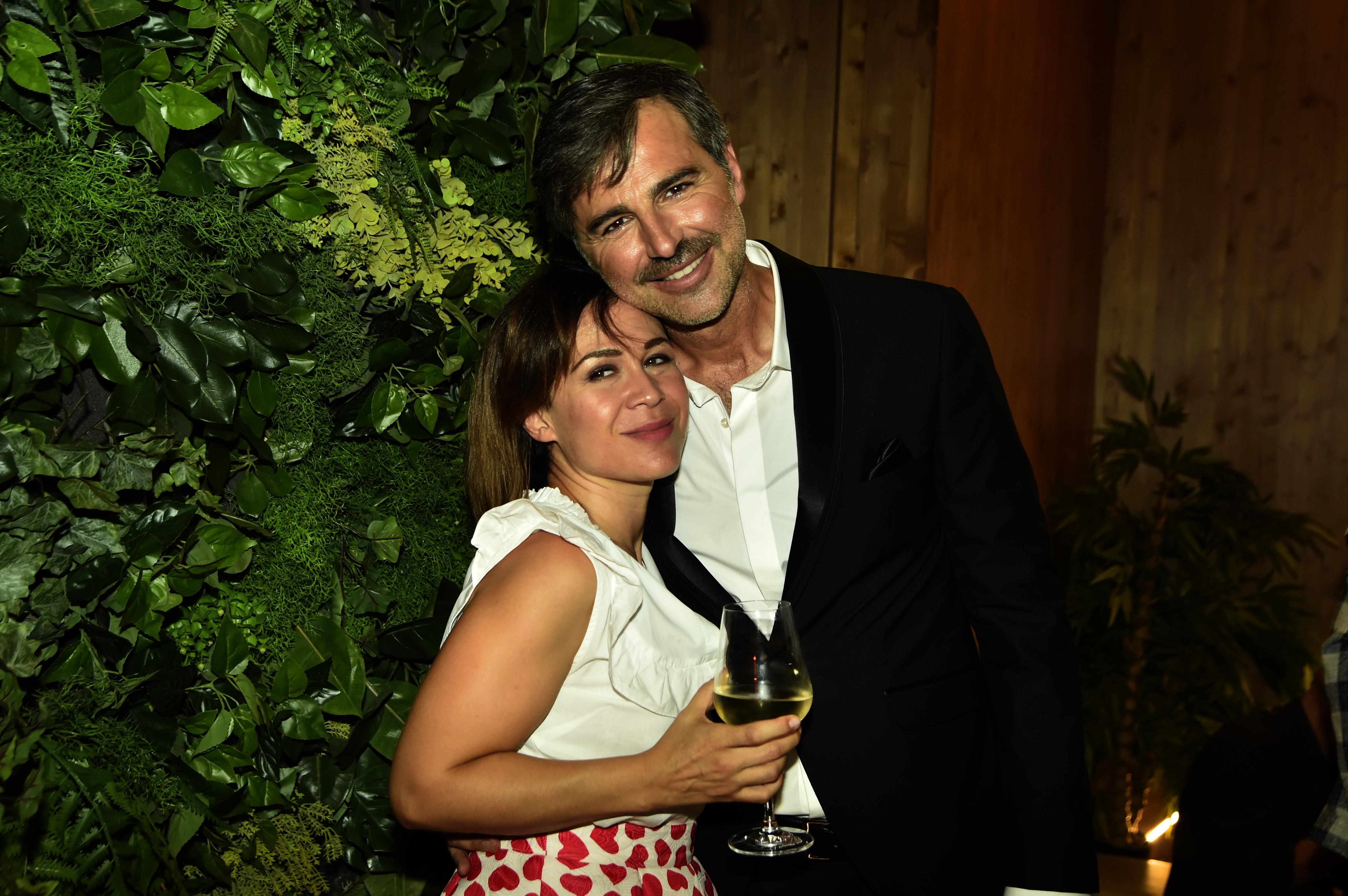 Beppe Convertini e Valeria Graci