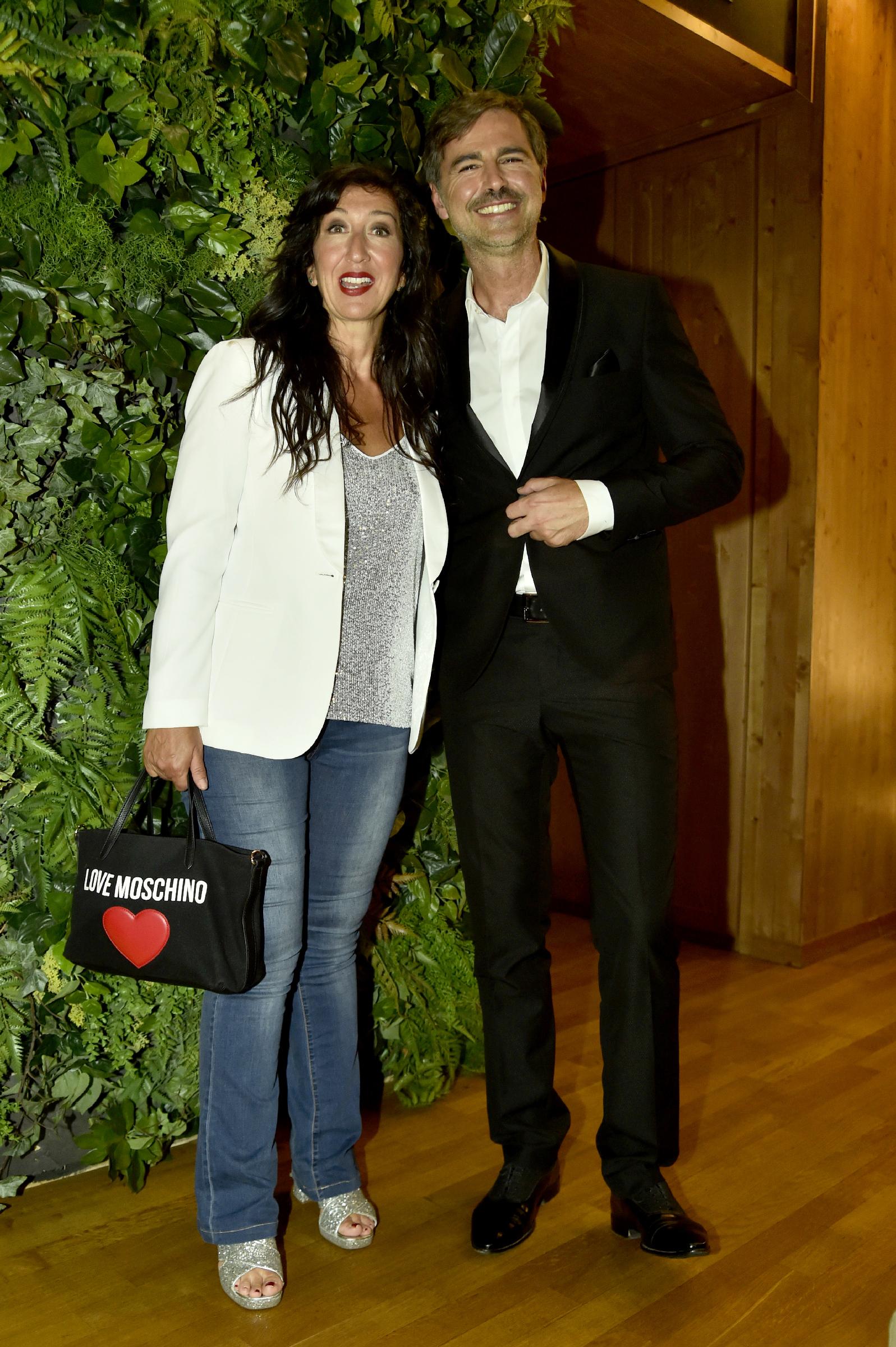 Emanuela Aureli e Beppe Convertini