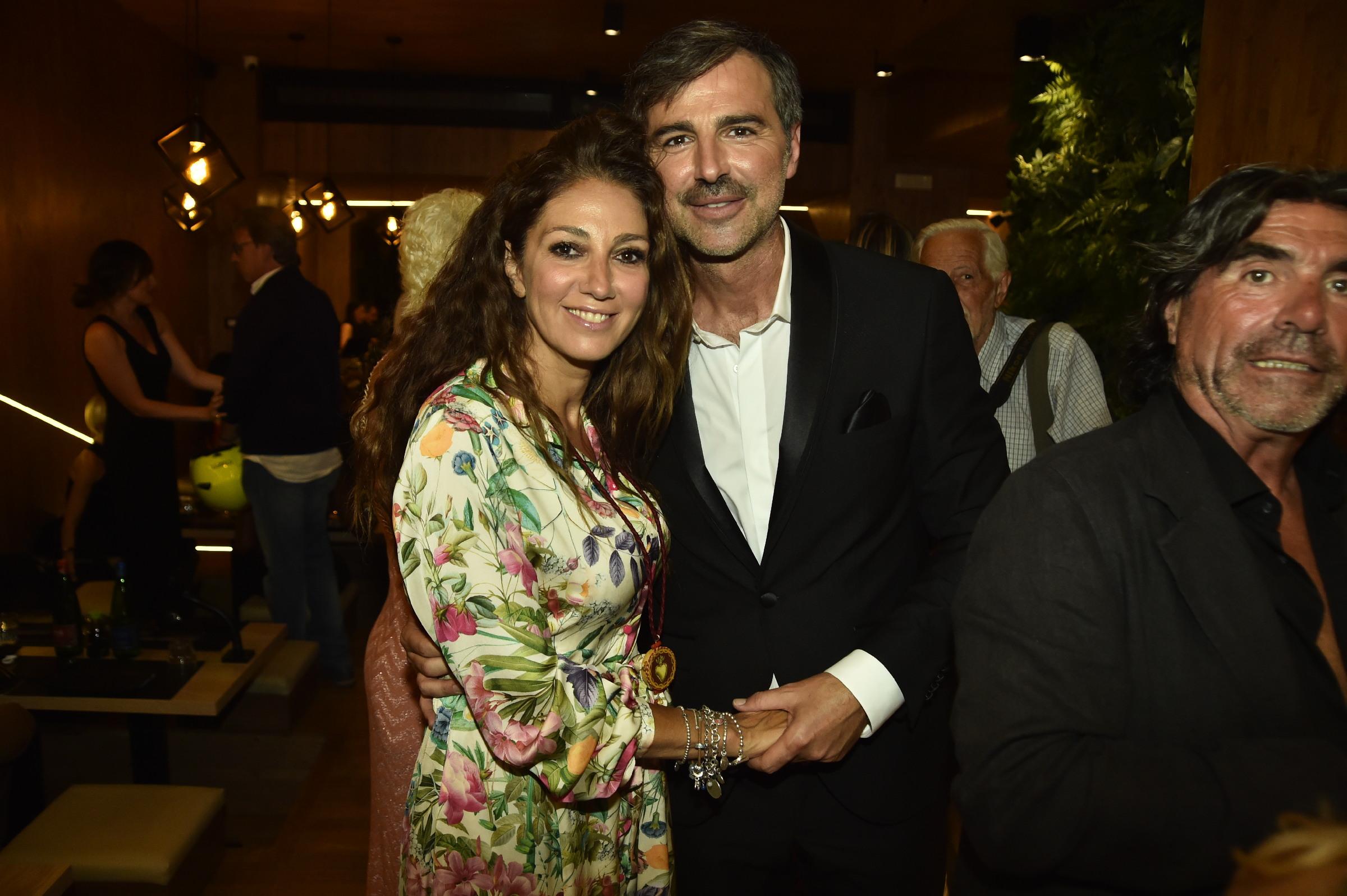 Fanny Cadeo e Beppe Convertini