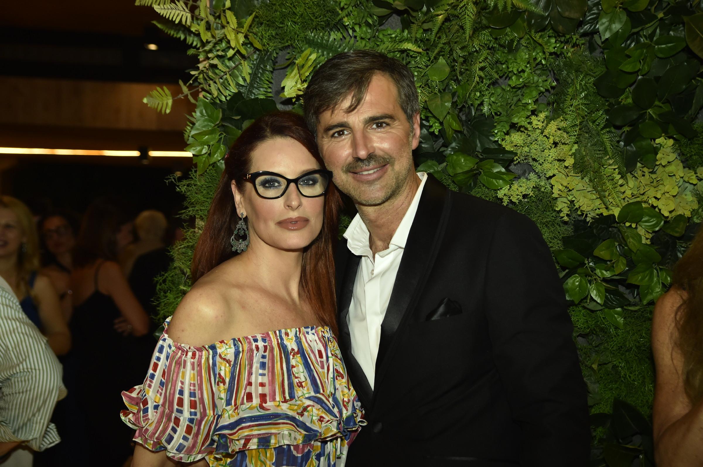 Simona Borioni e Beppe Convertini