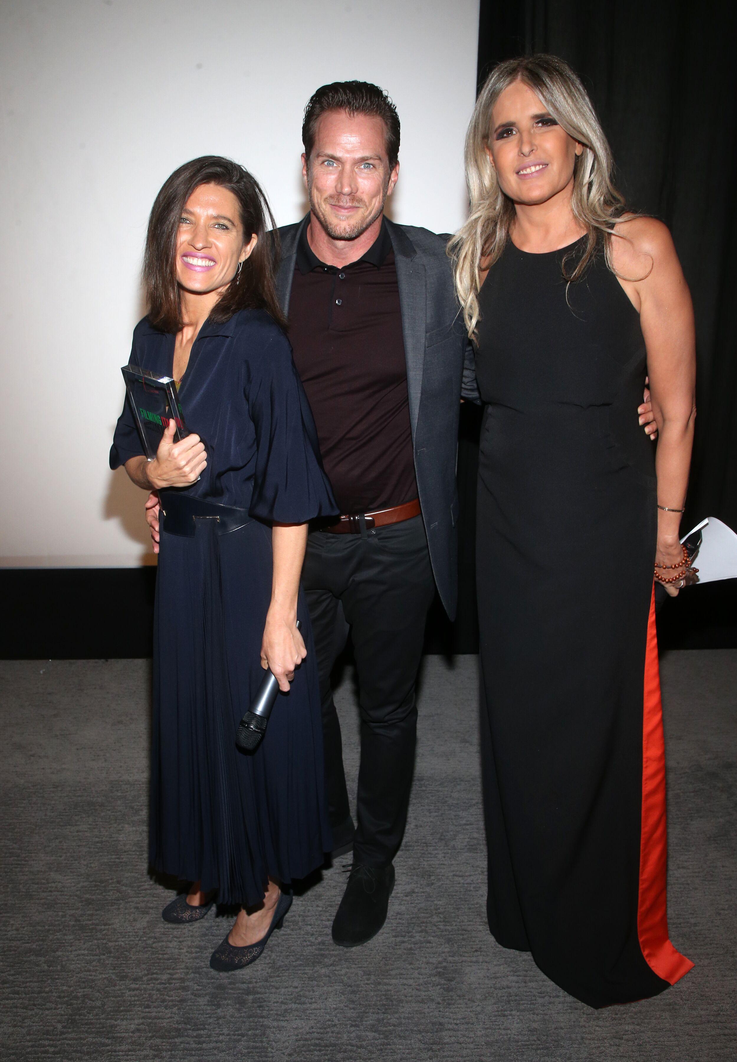 Chelsea Winstanley produttrice Jojo Rabbit con l'att…iziana Rocca