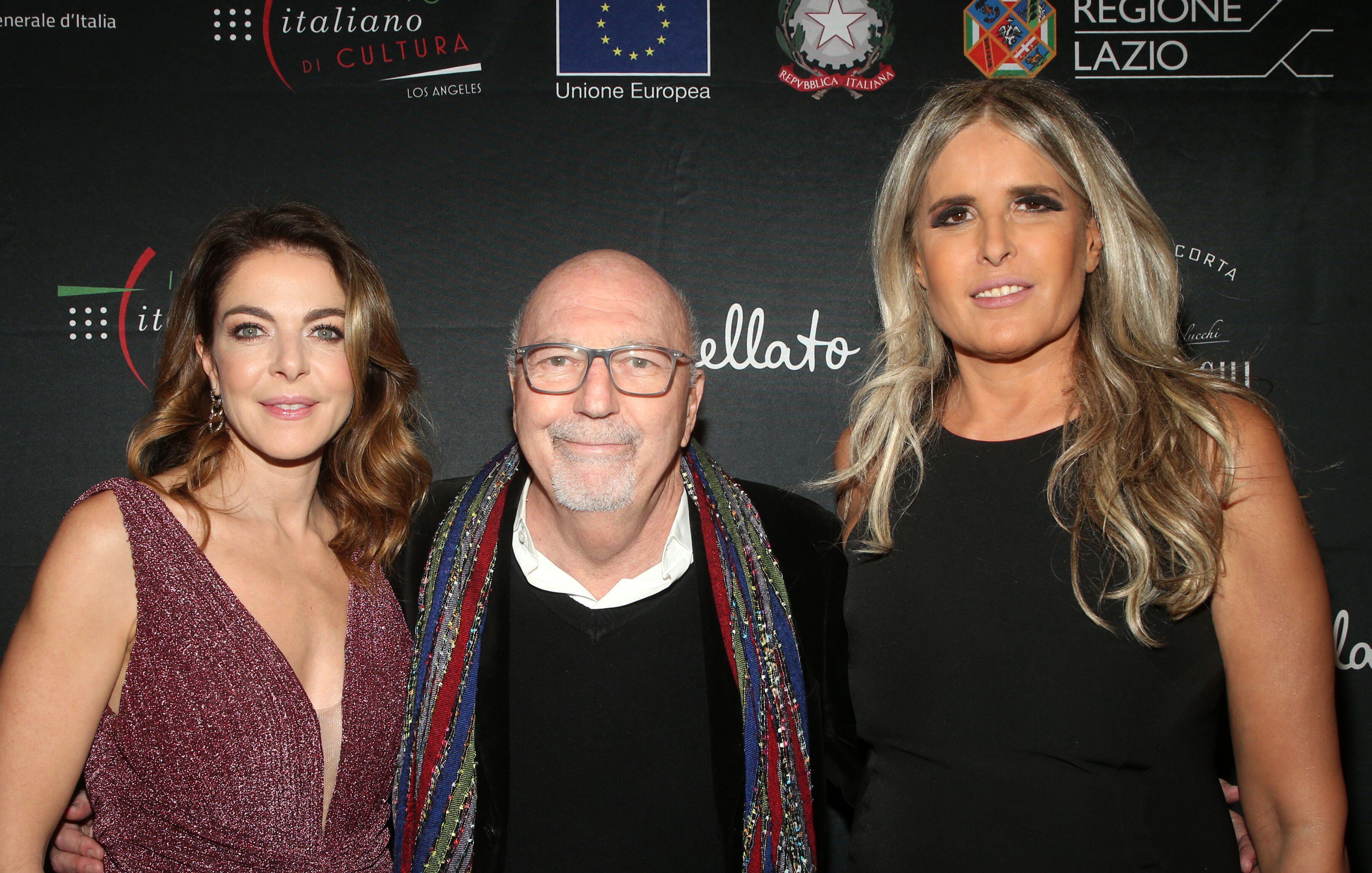 Claudia Gerini Lorenzo Soria e Tiziana Rocca_2020F…ingItaly_