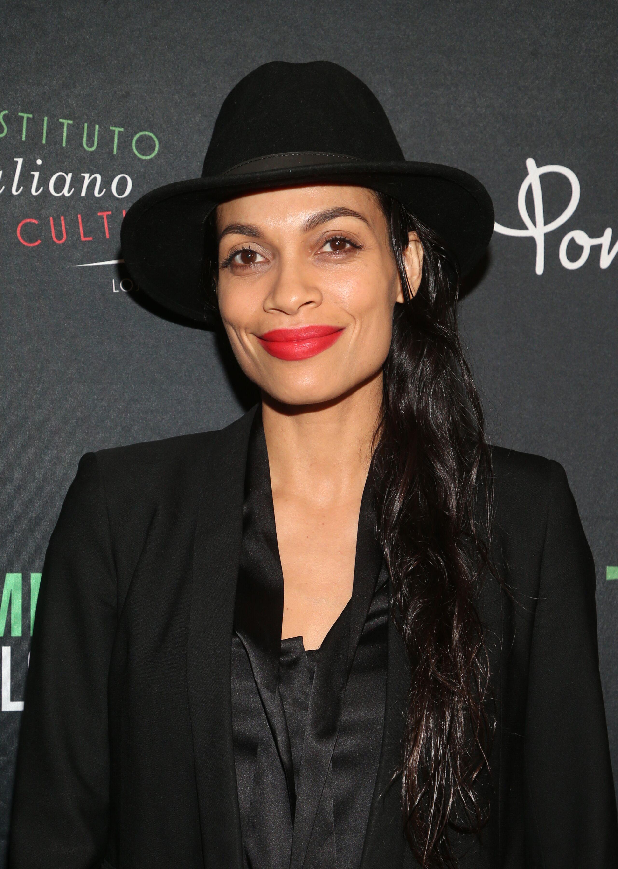 Rosario Dawson .2020FilmingItal