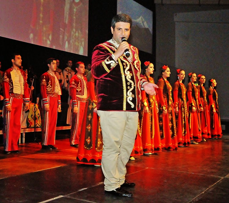 ! Photo HASSE FERROLD ARMENIA STATE Song and Dance Ensemble TATUL ALTUNYAN 11 Oct 2014 7a