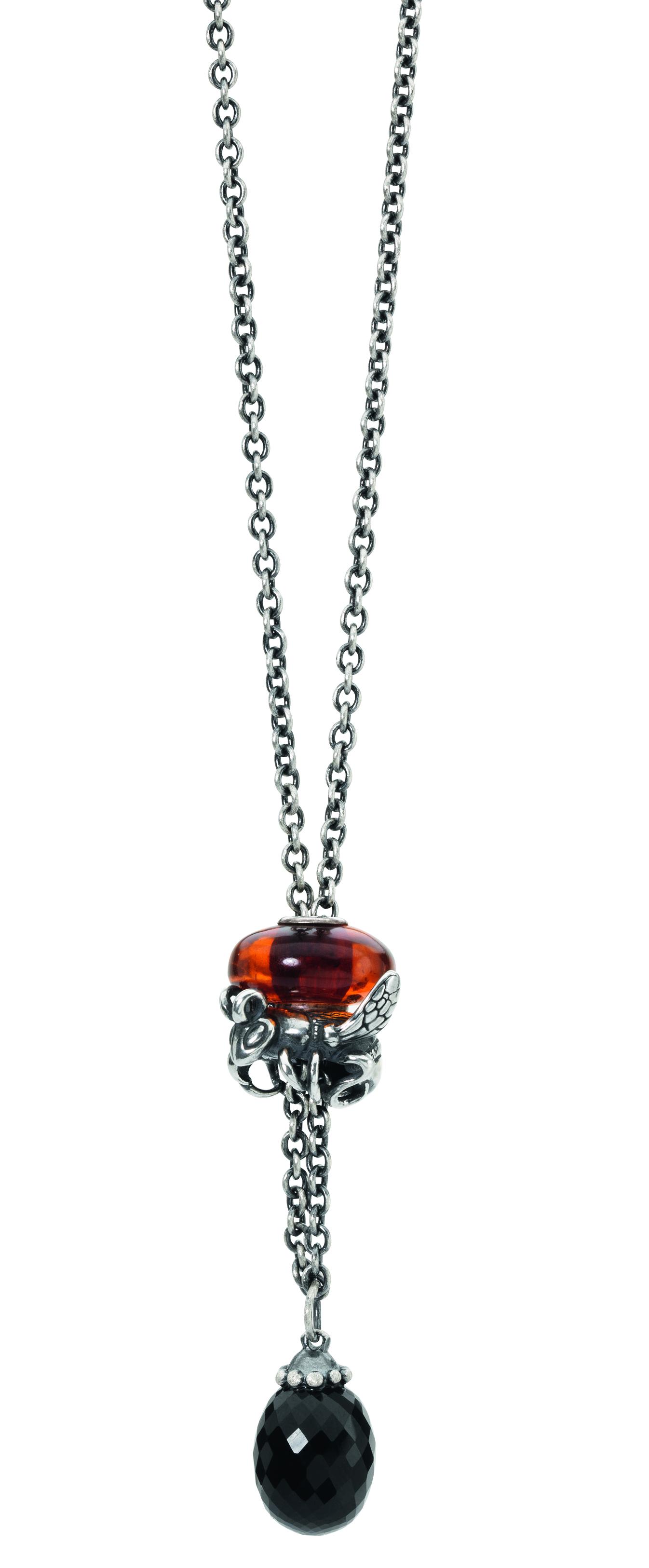 SB_16-02_collana fantasia in argentoe onice_composto con beads in argento e ambra