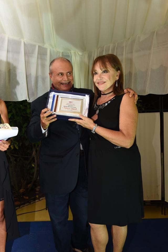 Adriana Russo premia Pierfrancesco