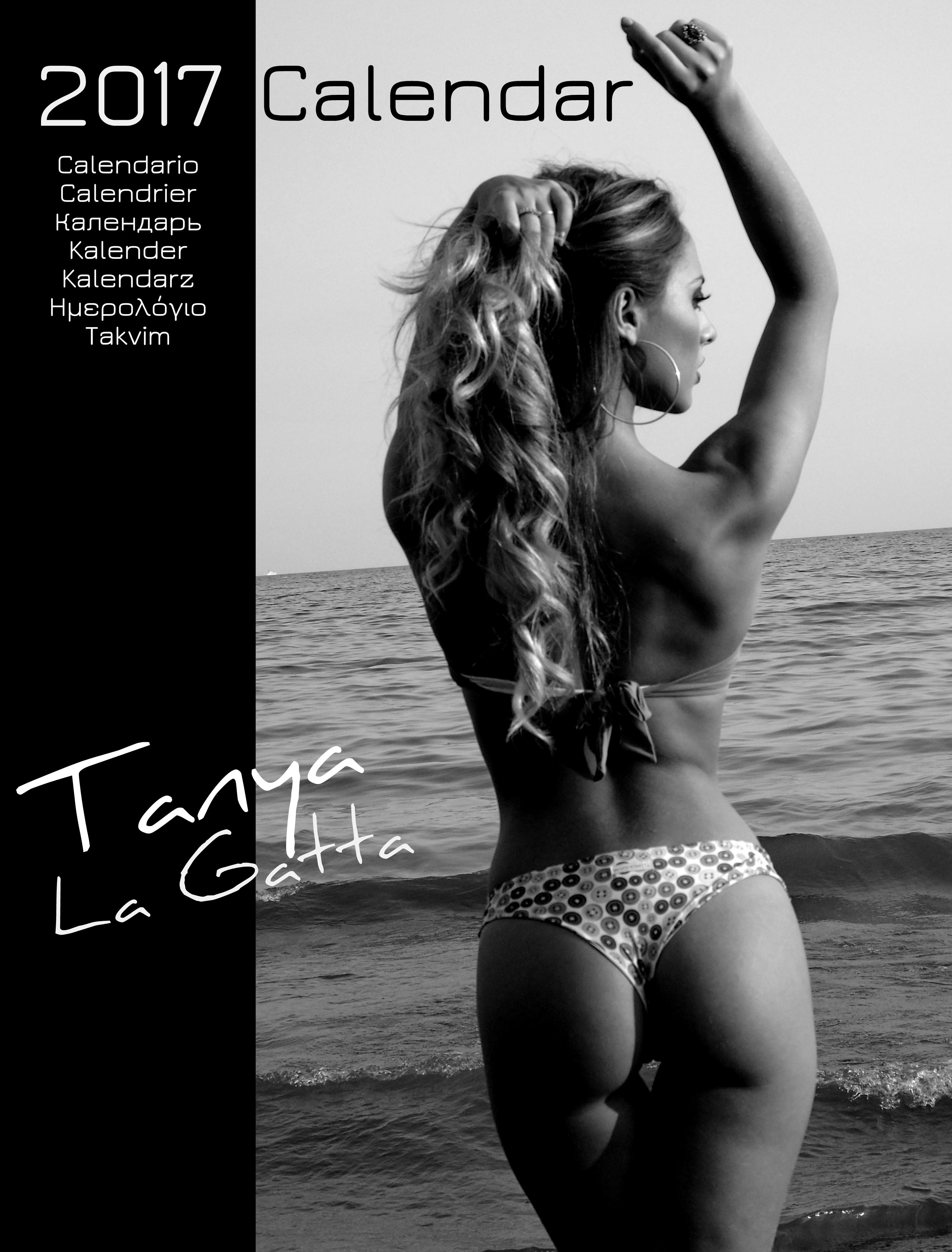 Il calendario 2017 di Tanya La Gatta.