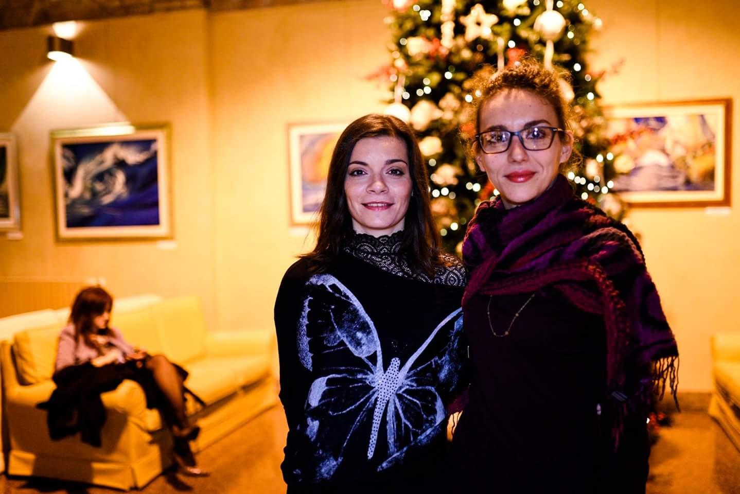 Iolanda La Carrubba e Sarah Panatta