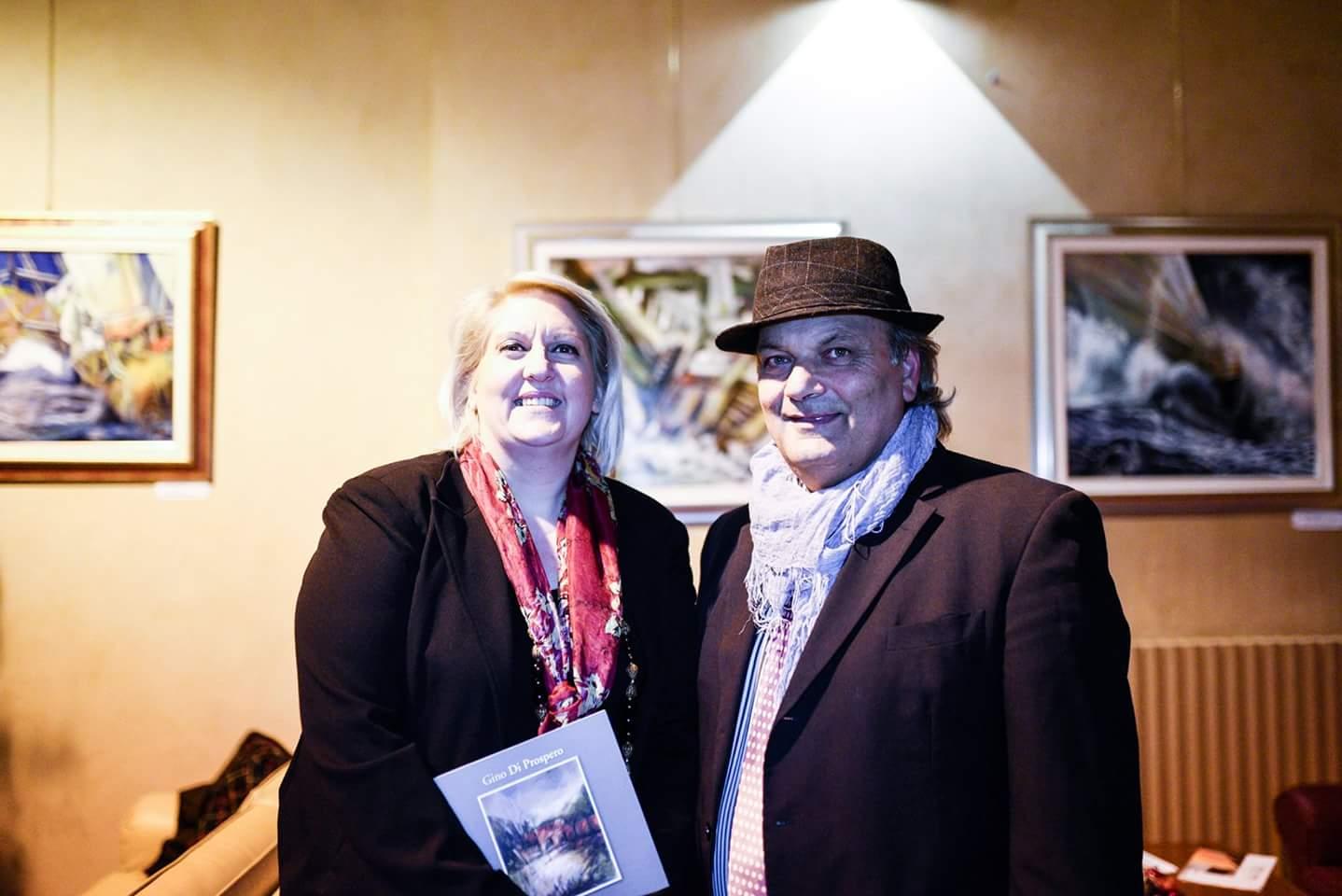 Loredana Finicelli e Gino Di Prospero.