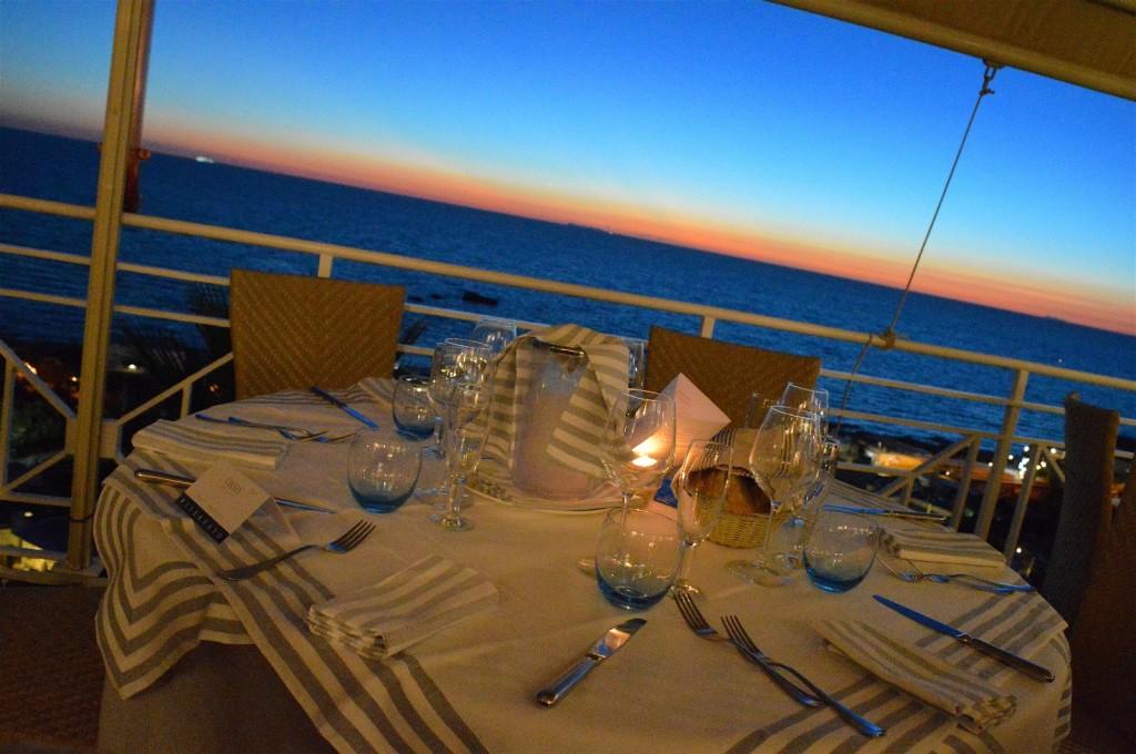 tavolo oasis tramonto