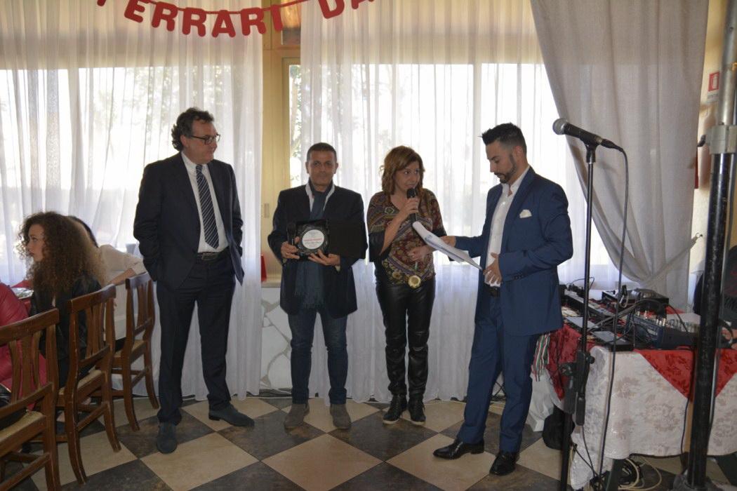 PREMIAZIONE DI CARLO ALBERTO TERRANOVA
