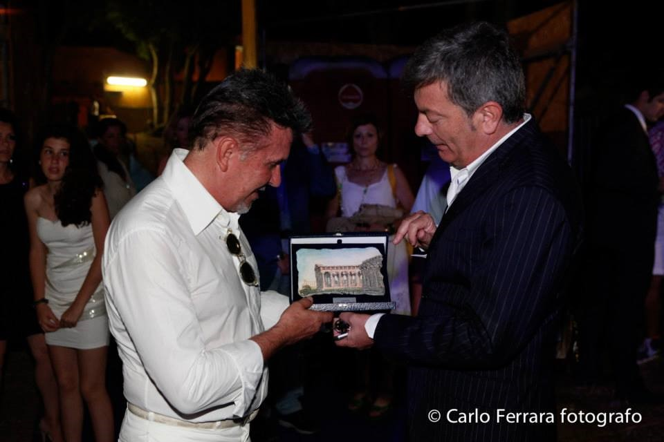 Alviero Martini- Sindaco Italo Voza
