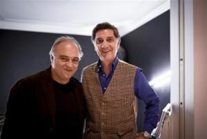 Da sx Toni Malco e Marco Tullio Barboni