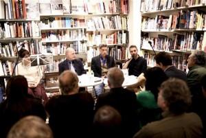 Veduta del tavolo dei relatori