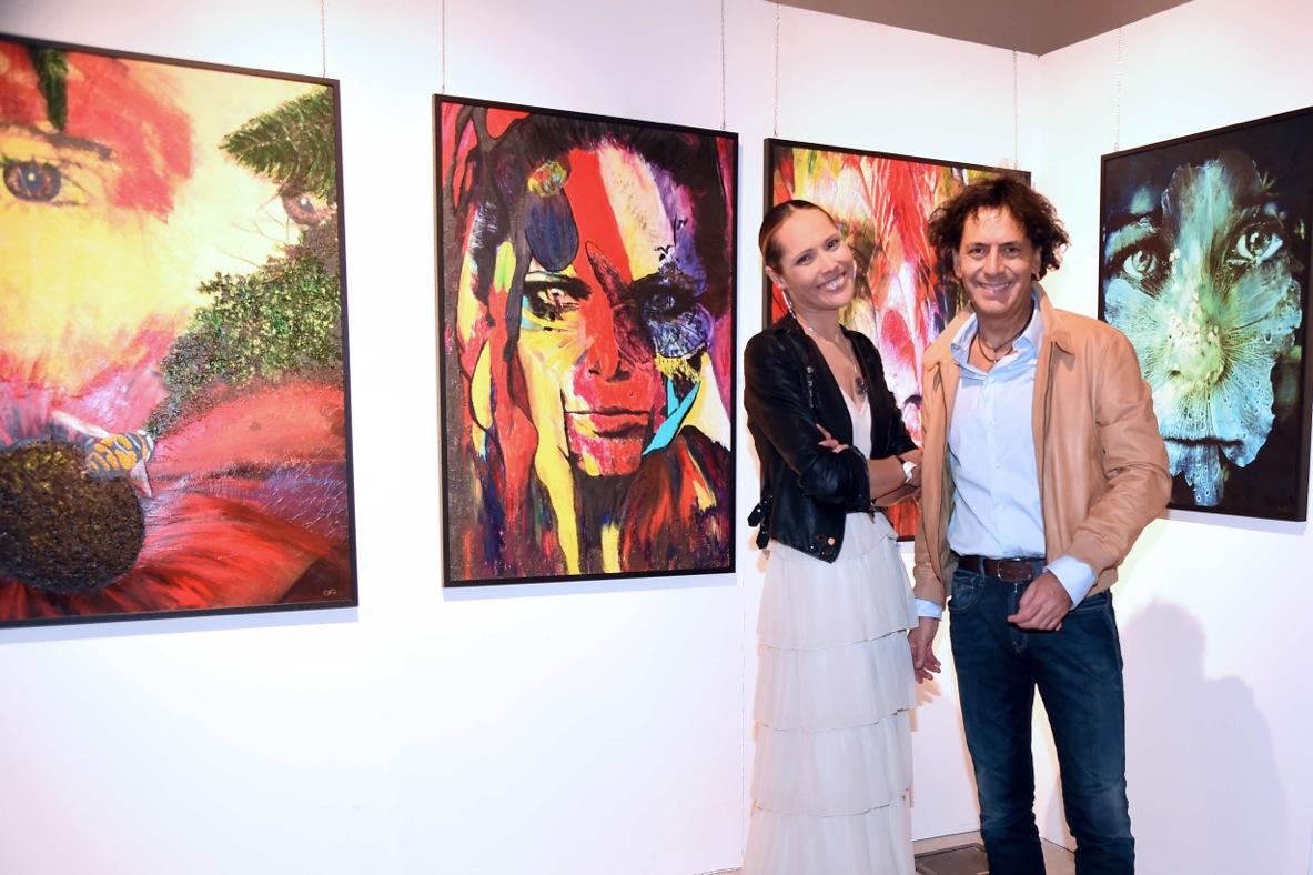 Adriana Soares e Andrea Morricone