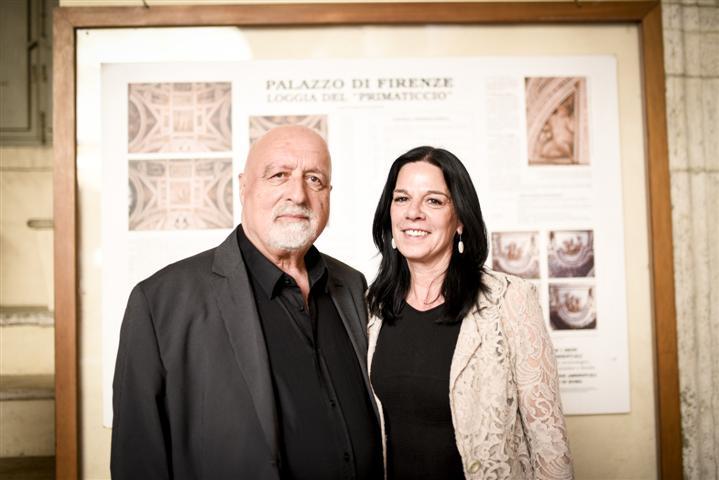 Albino Ripani e Sonia Giovannetti