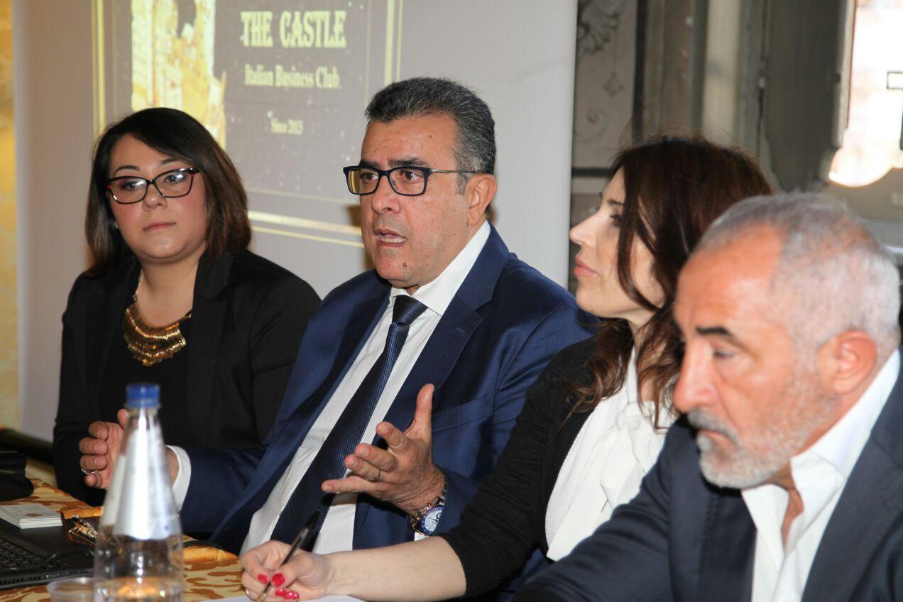 Mounir Laamari durante il seminario
