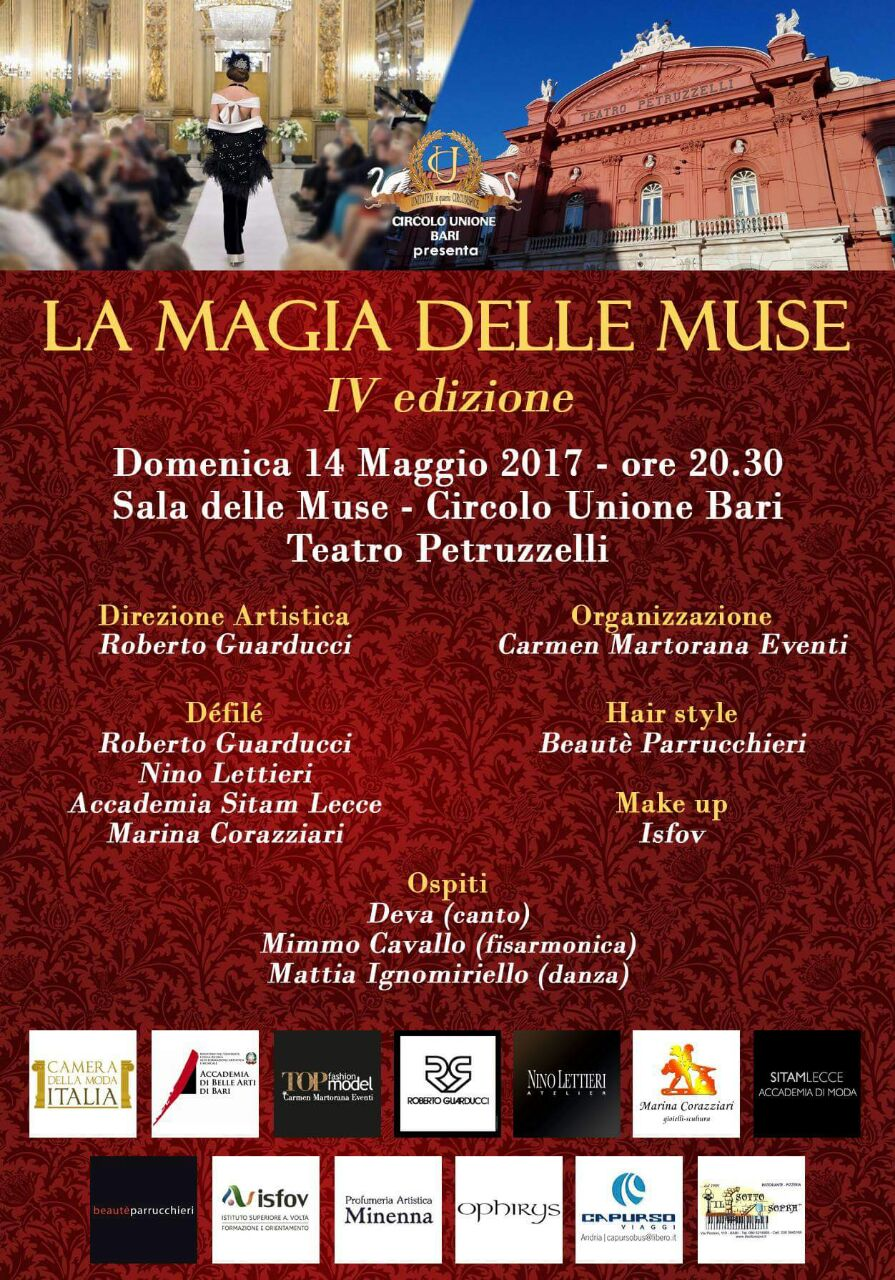 La Magia delle Muse 2017 - Locandina