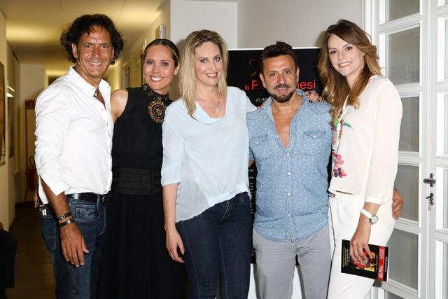 Maestro Andrea Morricone - Adriana Soares - Chiara Giallonardo - Vincenzo Merli - Joseana Platania