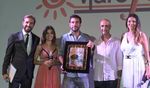 Cavaleri, Capone, Leo, Arabia e La Malfa (Premio Troisi a Edoardo Leo)