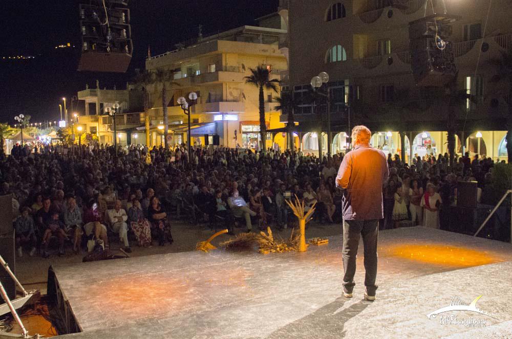 Giacobbo e il pubblico della prima sera