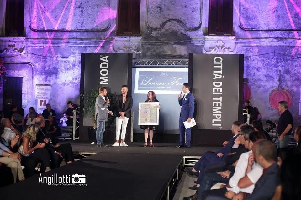 Luciano Fiore Couture Arzano (Na) vincitore del Premio Giuria Giornalistica Giuria Tecnica 3