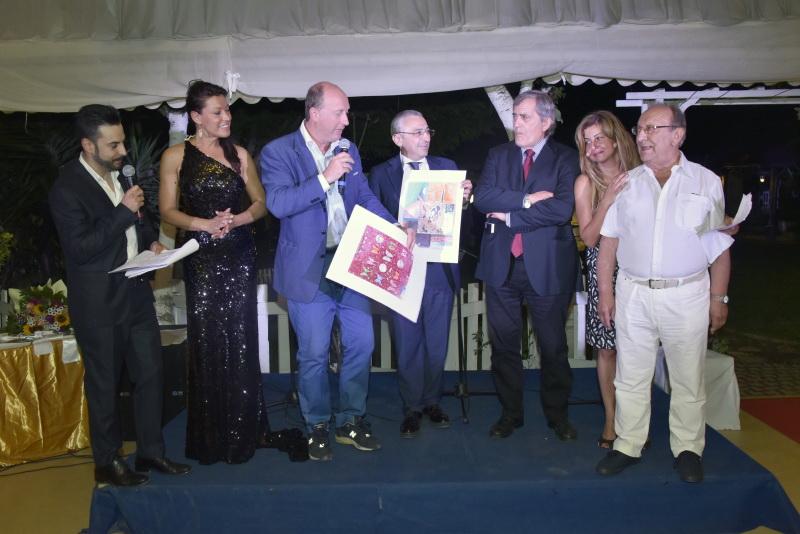 Momento premiaizoni dello Spoleto Art Festival