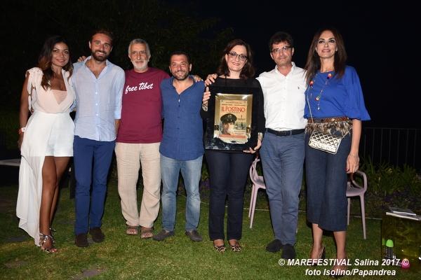 Micalizzi, Cavaleri, Accorinti, Siracusano, Fiorello, Morgante e Cucinotta (Premio Troisi a Catena Fiorello)