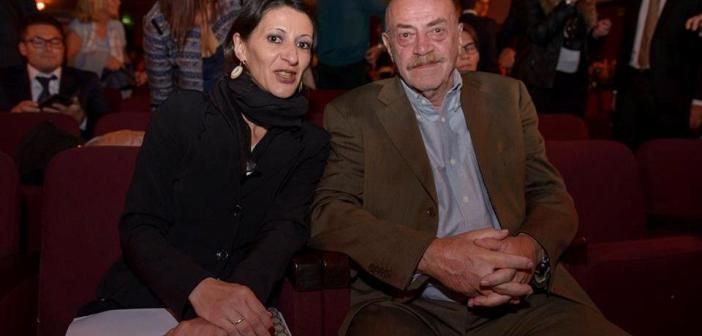 Francesca Esposito a lavoro con Toni Capuozzo