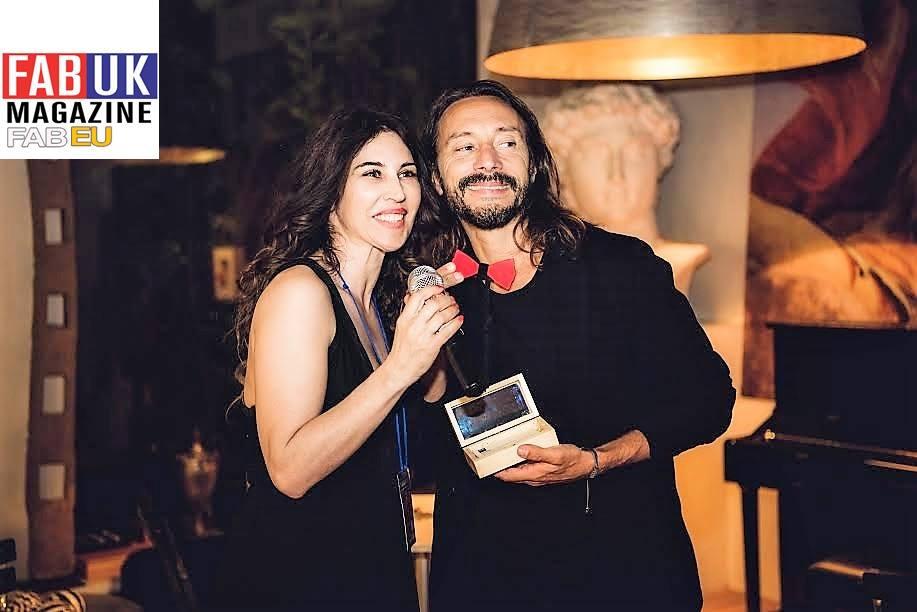 Gabriella Chiarappa che intervista Bob Sinclair