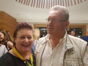 foto daniela mastroberardino antonella con il marito Fabrizio