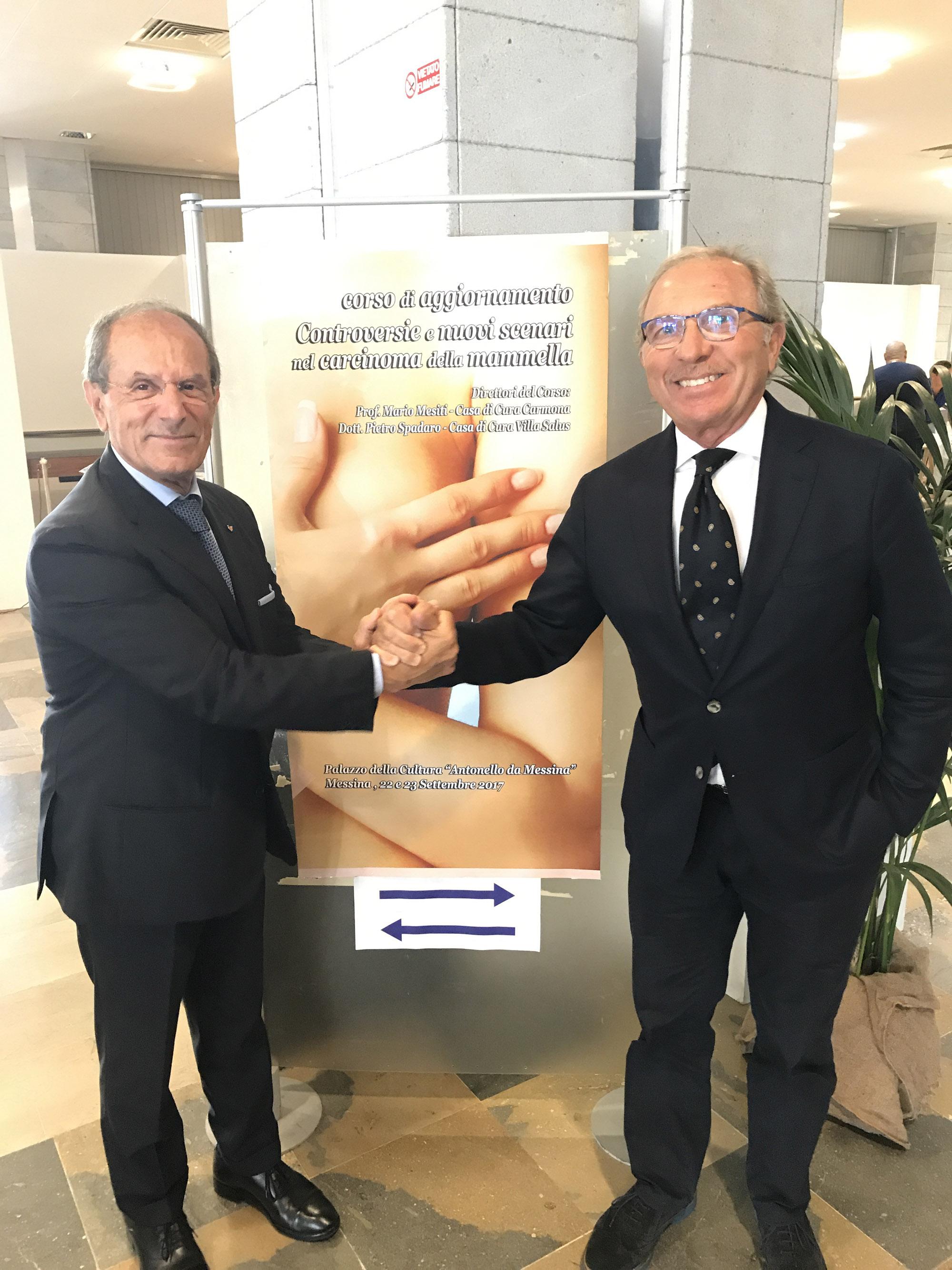 Francesco Schittulli e Petro Spadaro