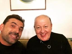 Fabrizio Buompastore con Massimo Boldi