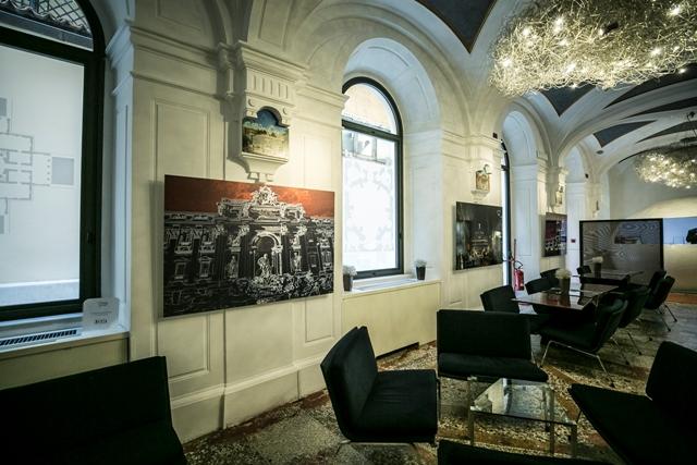 Art Hotel mostra di Graziano Villa