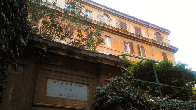 Studio Picasso in Via Margutta
