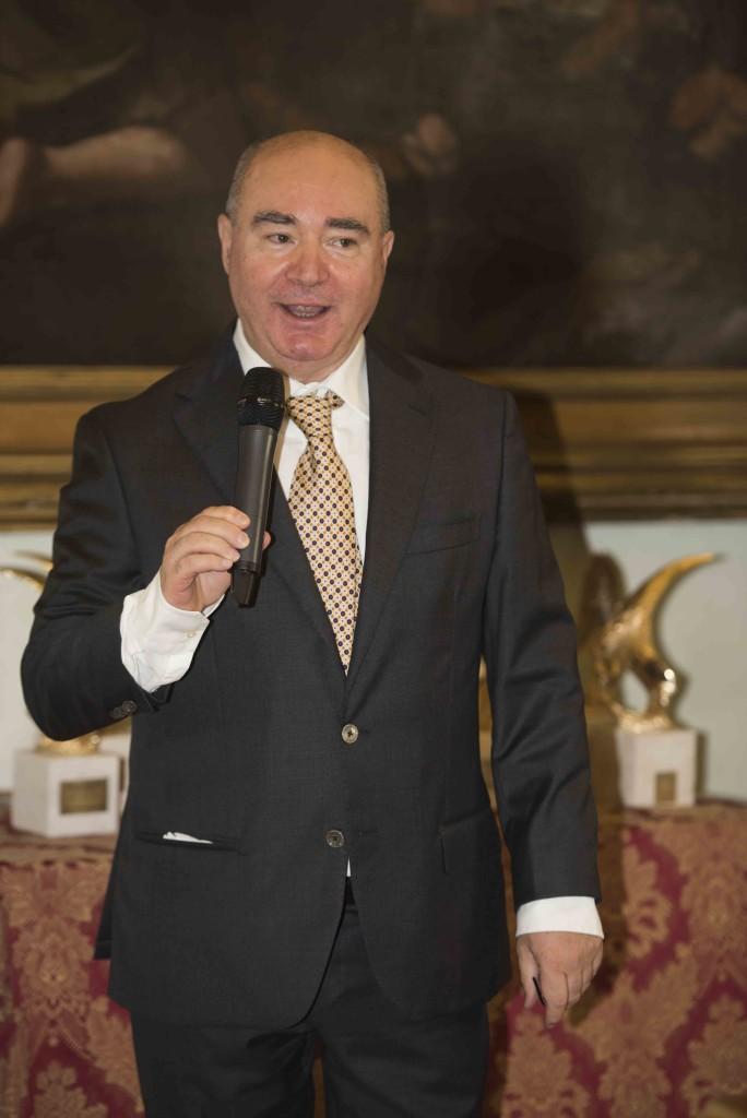 Dr. Domenico Cambareri, Segretario Generale del Consiglio Direttivo del Premio