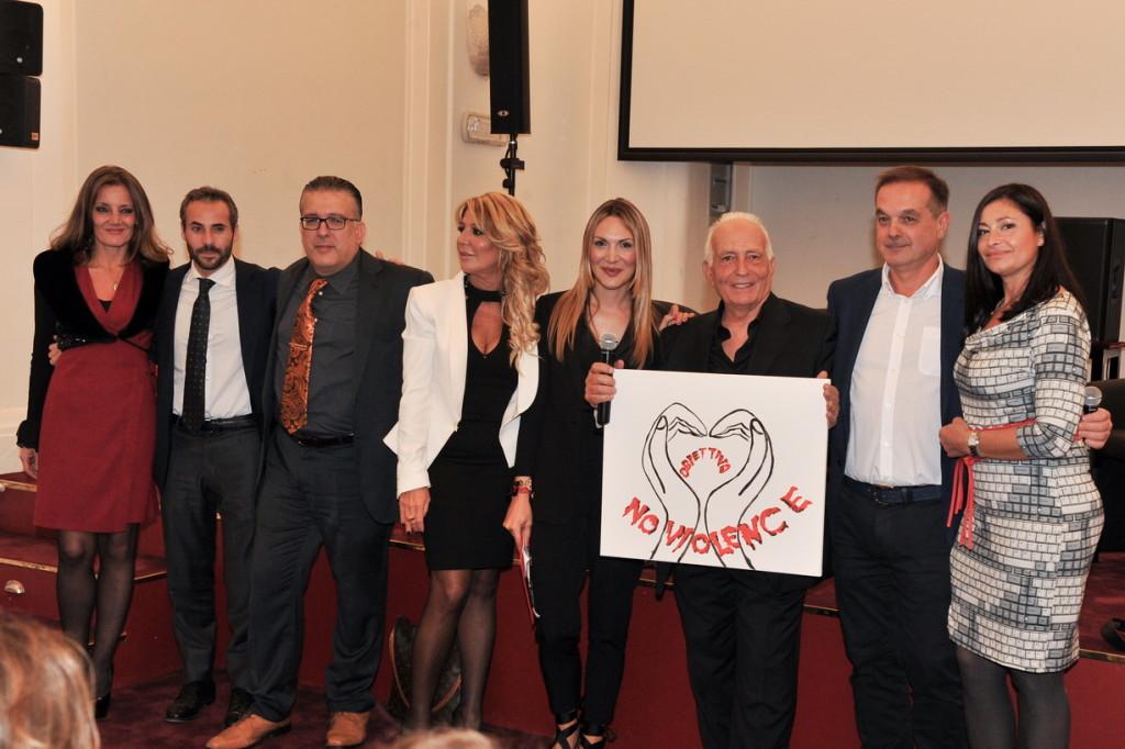 foto di gruppo relatori, Sara Zuccari e Michele Simolo