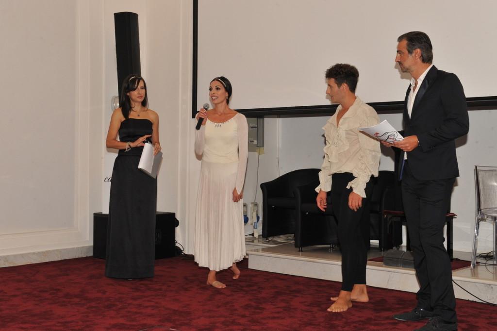 Elena Parmegiani, Alessandra Miccichè, Kal Guglielmelli, Beppe Convertini