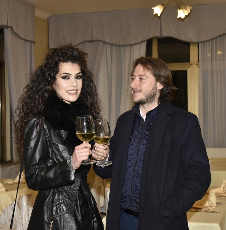 Modestina Cicero con Marco Petrilli