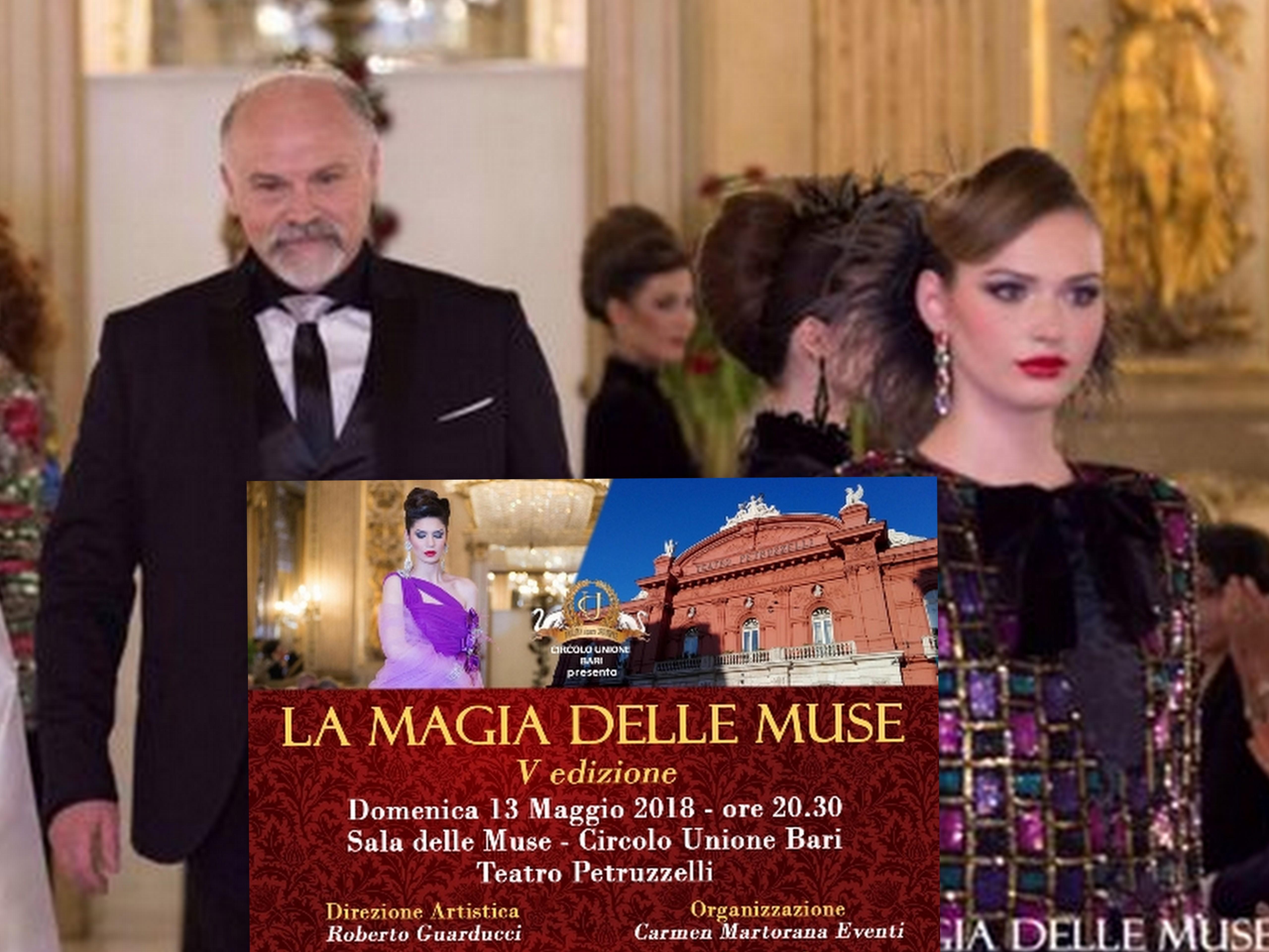 Bari – LaMagiadelleMuse celebra i 40 anni di carriera dello stilistaRoberto Guarducci