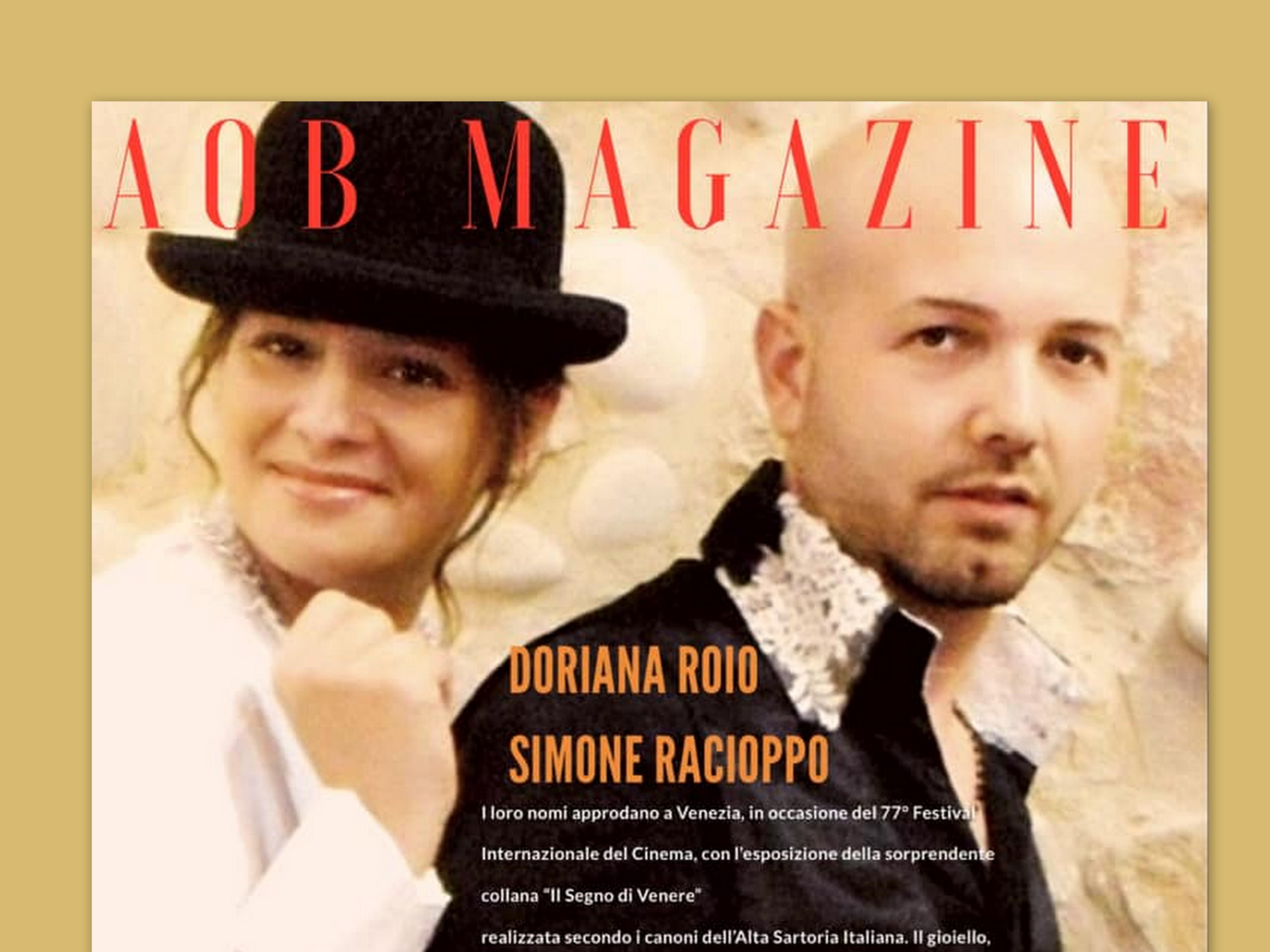 Simone Racioppo e Doriana Roio