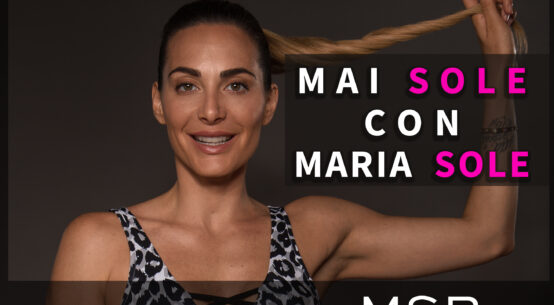 Fitness in formato Glamour