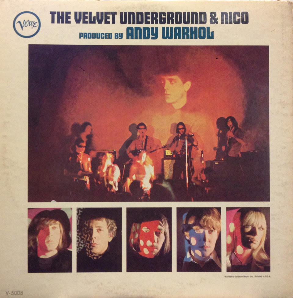 Andy warhol Cover Velvet Underground