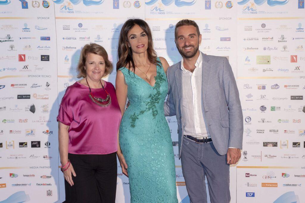 Patrizia Casale, Maria Grazia Cucinotta e Massimiliano Cavaleri
