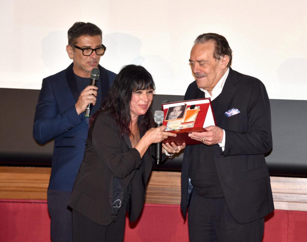 Stefano Buttafuoco, Francesca Piggianelli e Rino Barillari