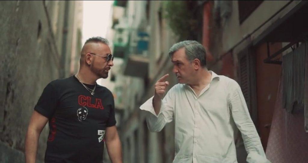 Cosimo Merolla e Francesco Merola al centro storico